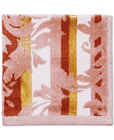 "CLOSEOUT! Damask Stripe Cotton 12"" x 12"" Wash Cloth"