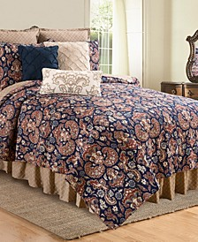 Rosamund Damask King Quilt Set