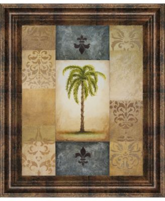 "Fantasy Palm II by Michael Marcon Framed Print Wall Art, 22"" x 26"""