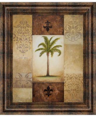 "Fantasy Palm I by Michael Marcon Framed Print Wall Art, 22"" x 26"""