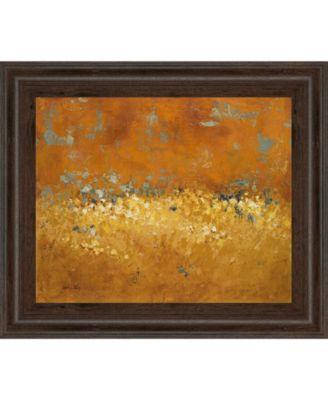"""Flower Fields I by Lanie Loreth Framed Print Wall Art, 22"""" x 26"""""""