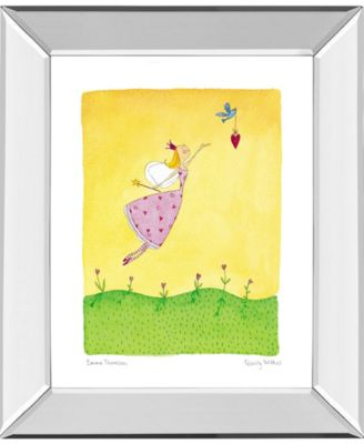 "Felicity Wishes II by Emma Thomson Mirror Framed Print Wall Art, 22"" x 26"""