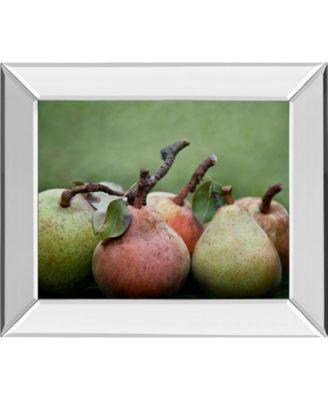 "Comice Pear I by Rachel Perry Mirror Framed Print Wall Art, 22"" x 26"""