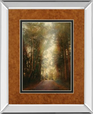 """Road of Mysteries II by Amy Melious Mirror Framed Print Wall Art, 34"""" x 40"""""""