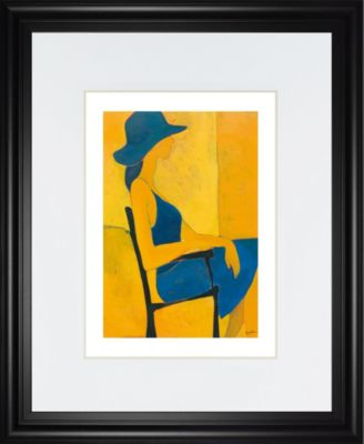 """In View of II by Augustine Framed Print Wall Art, 34"""" x 40"""""""