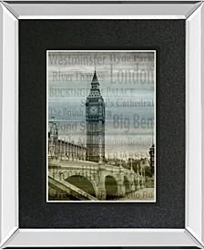 """Big Ben by Alan Lambert Mirror Framed Print Wall Art, 34"""" x 40"""""""