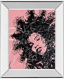 "Star II by Oksana Leadbitter Mirror Framed Print Wall Art, 22"" x 26"""