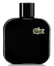Men's Eau de Lacoste Men's L.12.12 Black Eau de Toilette Spray, 3.3 oz.