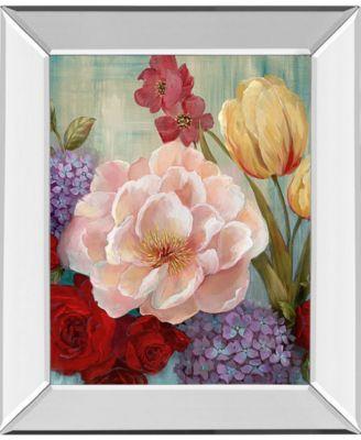 """June's Celebration II by Nan Mirror Framed Print Wall Art, 22"""" x 26"""""""