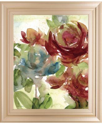"""Secret Garden II by Carol Robinson Framed Print Wall Art, 22"""" x 26"""""""