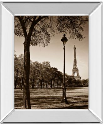 "An Afternoon Stroll-Pari by Maihara J. Mirror Framed Print Wall Art, 22"" x 26"""