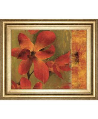 """Crimson Garden by Asia Jensen Framed Print Wall Art, 22"""" x 26"""""""