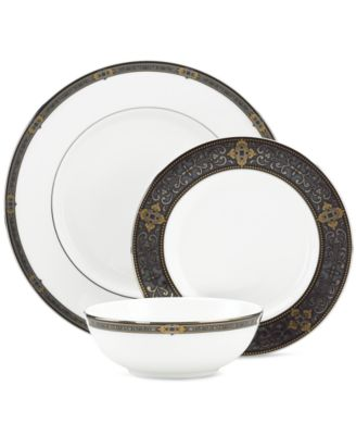 Vintage Jewel 3-Piece Place Setting