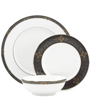 Lenox Dinnerware, Vintage Jewel 3-Piece Place Setting