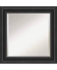 """Ridge Framed Bathroom Vanity Wall Mirror, 25.75"""" x 25.75"""""""