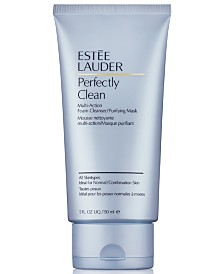 Estée Lauder Perfectly Clean Multi-Action Foam Cleanser/Purifying Mask, 5 oz.