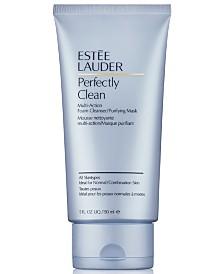 Estée Lauder Perfectly Clean Multi-Action Foam Cleanser/Purifying Mask, 5 oz.