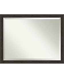 """Shipwreck Framed Bathroom Vanity Wall Mirror, 44"""" x 34"""""""