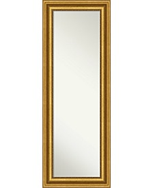 "Parlor Gold-tone on The Door Full Length Mirror, 19.62"" x 53.62"""