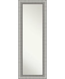 "Elegant Brushed on The Door Full Length Mirror, 18.75"" x 52.75"""