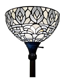 Tiffany Style Torchiere Floor Lamp