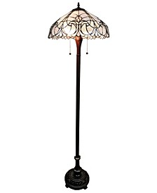 Tiffany Style Floral Floor Lamp