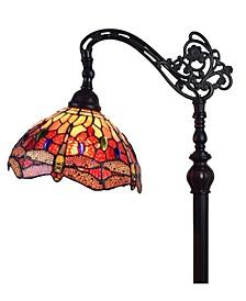 Tiffany Style Dragonfly Reading Floor Lamp
