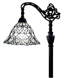 Tiffany Style Adjustable Floor Lamp