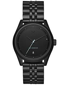 Men's Rise Oath Black Stainless Steel Bracelet Watch 39mm