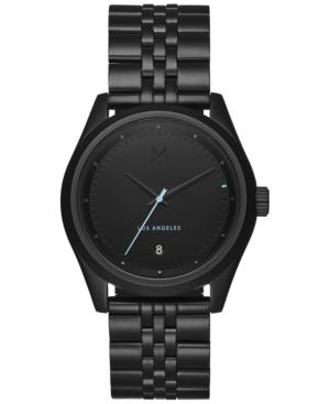 Mvmt Men's Rise Oath Black Stainless Steel Bracelet Watch 39mm