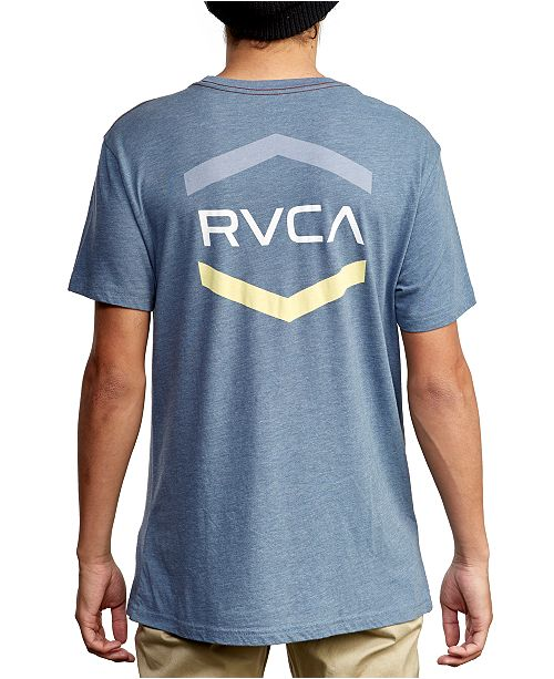 RVCA Men's Slim-Fit Airborne Logo Graphic T-Shirt