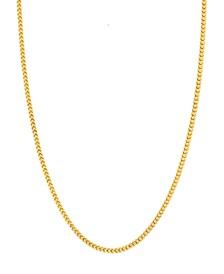 "14K Yellow Gold Diamond Cut 1.85 mm Franco 20"" Chain"
