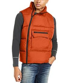 Men's Side Zip Puffer Vest