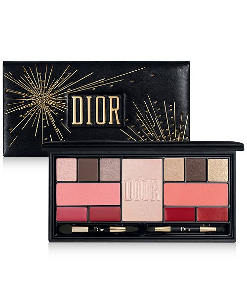 Dior Sparkling Couture Palette - Color & Shine Essentials For Face, Eyes & Lips
