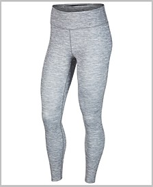 Women's One Luxe Dri-FIT Heathered Leggings