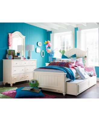 Summerset Full Bed with Underbed Storage Drawer