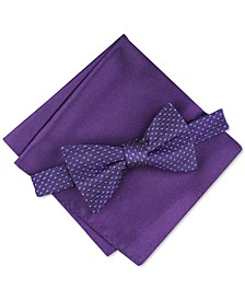 Men's Roy Geo Pre-Tied Bow Tie, Created for Macy's