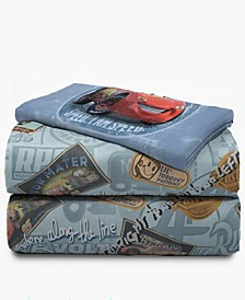 Cars 3-Piece Twin Sheet Set