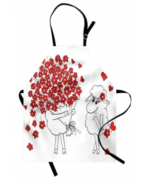 Ambesonne Valentine Apron