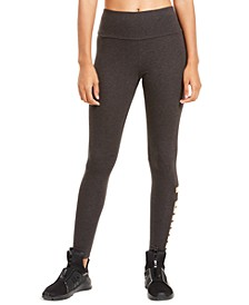 Metallic Logo Leggings