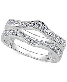 Diamond Double Countour Enhancer Ring (5/8 ct. t.w.) in 14k White Gold