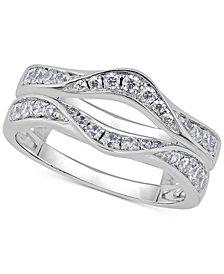 Diamond Double Countour Enhancer Ring (5/8 ct. t.w.) in 14k White Gold