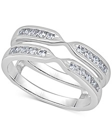 Diamond Double Row Enhancer Ring (1/2 ct. t.w.) in 14k White Gold