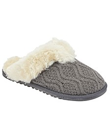 Women's Caroline Knit Scuff Slipper