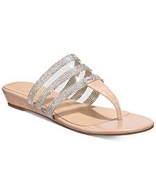 Idina Flat Sandals, Created For Macy's