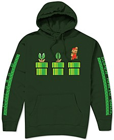 Mario Sewer Escape Men's Graphic Hoodie