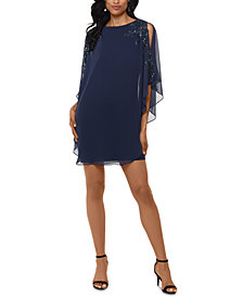 XSCAPE Overlay Dress