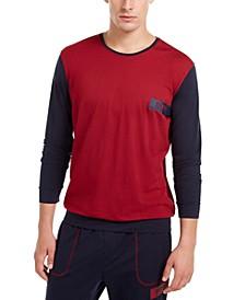 HUGO Men's Balance Colorblocked Pajama Shirt