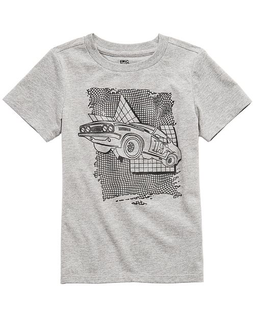 Epic Threads Little Boys Jumping Car T-Shirt, Created For Macy's