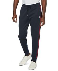 Men's Slim-Fit Side Tape Track Pants